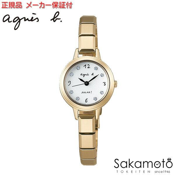 【2017年4月21日発売予定】国内正規品アニエスベー【agnes b.】【MARCELLO!】腕時計 ソーラー 電池交換不要 女性用 レディース【日本製】【FBSD949】