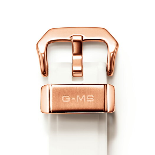 国内正規品カシオ Baby-G 【G-MS(ジーミズ)】コンパクトなメタルデザインがクールなNewモデル 「ホワイト×ピンクゴールド」  レディース時計 デジアナ 【MSG-W200G-7AJF】
