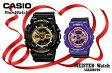【あす楽】国内正規品G-SHOCK「Gショック」ペアーウォッチ【プレゼントに最適】デジアナモデル 二人の絆を確かめ合える腕時計 【カップル】【2本ペア】文字刻印で世界に1つだけのペアウォッチ【GA-110GB-1AJF&BA-110NC-6AJF】