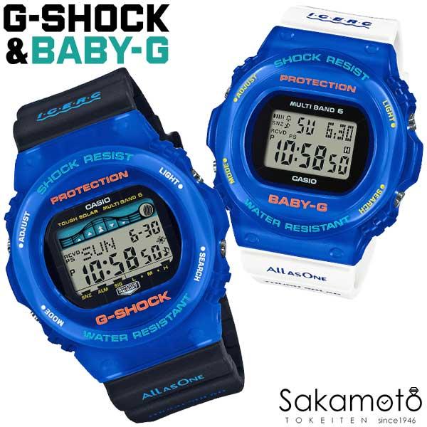 腕時計, ペアウォッチ 202106 CASIO PairWatch G-SHOCKBABY-G Love The Sea And The Earth30 GWX-5700K-2JRBGD-5700UK-2JRA L
