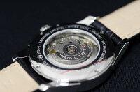 正規品ハミルトンHAMILTON2012年新作モデルジャズマスターデイデイト自動巻きシルバー文字盤ブラック革ストラップ【smtb-m】H32505751