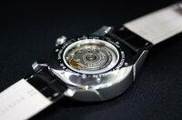 正規品ハミルトンHamilton2013年新作モデル「ジャズマスターレギュレーター」自動巻きグレー文字盤ブラック革ベルト在庫あり【】