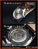 【あす楽】正規品ハミルトンジャズマスター「スピリットオブリバティ」自動巻き3針モデルシルバー文字盤【H42415551】