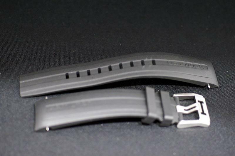 正規品ハミルトン 純正ベルト カーキXウィンドウ限定 H77726351用 H77766331用 ラバーバンド 【装着する時計の型番をご確認ください】