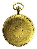 正規品TISSOTティソポケットウォッチ【SAVONNETTE】クォーツゴールド色T83.4.508.13