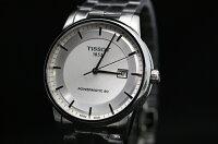正規品TISSOTティソ「パワーマテック80」LuxuryAutomatic自動巻きデイトシルバー文字盤ステンレスバンドパワーリザーブ80時間T086.407.11.031.00