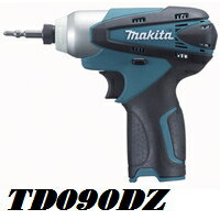 【在庫あり、即日発送可】マキタTD090DZ10.8V充電式軽量小型インパクトドライバー本体のみ青