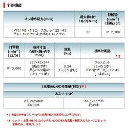 【期間限定予備バッテリ+1個付!】マキタ(makita)TD021DS7.2V充電式ペンインパクトドライバセットカラー:青(限定スペシャルバージョンセット)