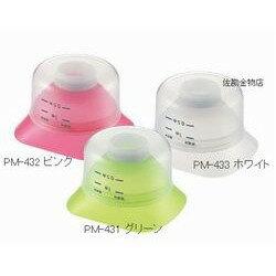 【エコで美味しいお米の新習慣!ペットボトルを米びつに!】曙(AKEBONO) PM-433 米びつろうと(ロート) カラー:ホワイト