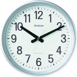 キングジム 電波掛時計 ダクスト 〔品番:GDK-003〕[1297496]「送料別途見積り,法人・事業所限定,取寄」