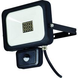 ☆日動工業(nichido) LEDセンサーライト フラットセンサーライト 30W 屋外型 2500Lm 〔品番:SLS-F30W〕[1488150]