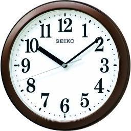 SEIKO スタンダード電波掛時計 〔品番:KX256B〕[1613649]