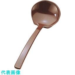 TKG エンテック メラミン 田舎杓子 茶 〔品番:QIN026A〕[1947022]「送料別途見積り,法人・事業所限定,取寄」