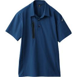 ジーベック 半袖ポロシャツ6060−17−LL 〔品番:6060-17-LL〕[2265954]「送料別途見積り,法人・事業所限定,取寄」