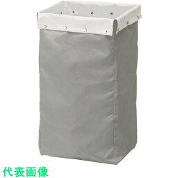 コンドル リサイクルカート Y−4(収納袋) グレー 緑 〔品番:C251-004X-MB GR〕[7362510]「送料別途見積り,法人・事業所限定,取寄」