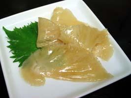 天使の翼「ふかひれ」寿司ネタ用味付フカヒレ