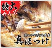 【お中元お歳暮ギフトに】北海真ほっけ干物3枚組!脂ノリノリ!!【冷凍同梱可】