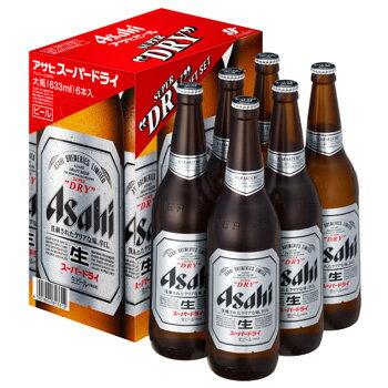[ビールギフト]アサヒ スーパードライ大瓶6本詰 EX-6 【通年】【お歳暮】【ラッキーシール対応】