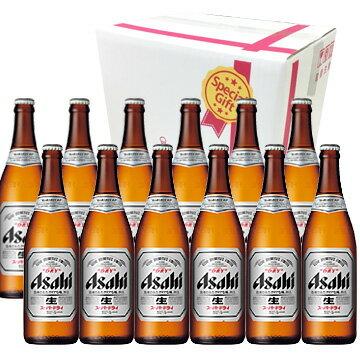 【ビールギフト】 アサヒビール スーパードライ 中瓶 ビール12本セット【お中元・お歳暮・ギフト】【ラッキーシール対応】