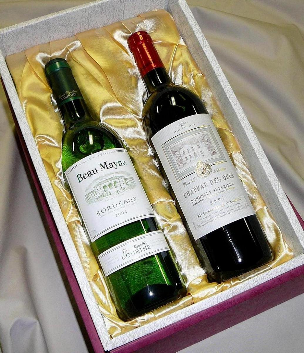 高級 布張りギフト箱(ギフトボックス) 【750ml・720ml瓶2本用】【ラッキーシール対応】