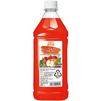 アサヒ ニッカ 果実の酒 ベジサワー キャロット&アップル コンク 1.8L (1:3希釈)