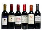 飲みきりサイズ! コスパの光る南半球 ハーフ赤ワイン6本セット ワイン ハーフS 赤S 送料無料 (北海道・沖縄は送料1000円、クール便は+700円)