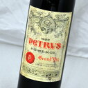 シャトー・ペトリュス [1983]ラベル不良Chateau Petrus赤ワイン・フランス【ボルドー・ポムロール】