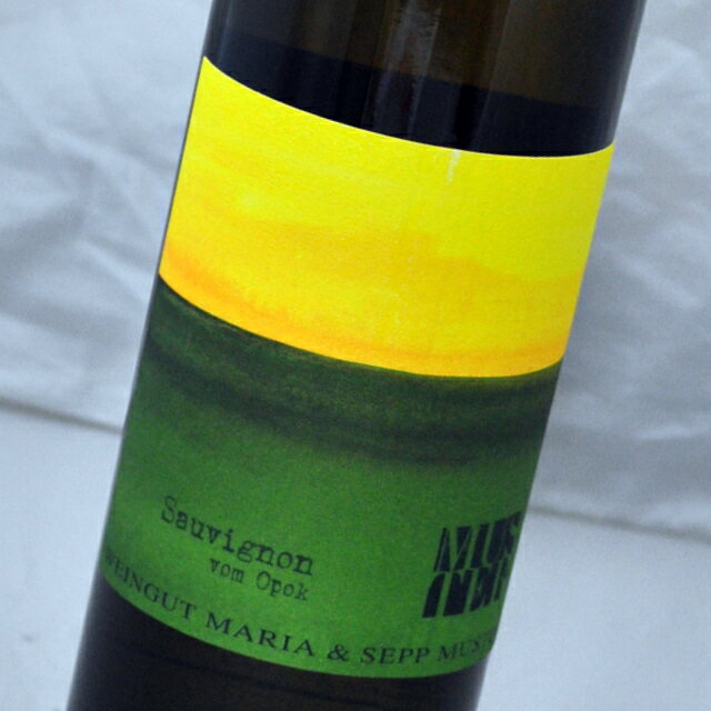 ワイン, 白ワイン  2016 Sauvignon vom OpokMaria Sepp Muster
