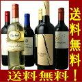 お手軽ワイン6本SET『第119弾!』赤5本+白1本計6本セット【送料無料】