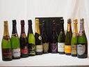 ドンペリ飲み比べ11本セット(ドンペリニヨンロゼ、ドンペリニヨン白+ロジャーグラートロゼ750+世界の厳選スパークリングワイン(辛口5本、甘口3本))750ml×11本 クリスマス お歳暮
