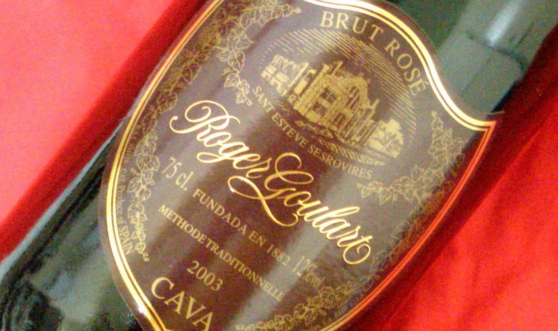 【 6本セット】某TV番組でシャンパンの王様「ドンペリ・ロゼ」に勝った逸話のロジャー グラート カヴァ 750mlスパークリングワインロゼ