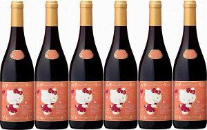 販売開始!6本セットハローキティー ボージョレ・ヴィラージュ・ヌーヴォー赤ワイン×6本 750ml(ボジョレヌーボ)盛田甲州ワイナリー