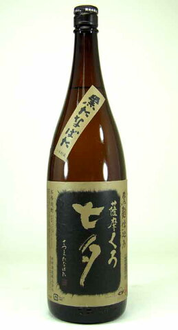 田崎酒造 芋焼酎 黒麹仕込み 薩摩くろ 七夕 1800ml