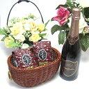 【贈り物限定】 あのドンペリに勝ったワイン♪ロジャー グラートカヴァ ロゼ750ml+オススメ珈琲豆(特注ブレンド200g、ハッピーブレンド200g) クリスマス お歳暮