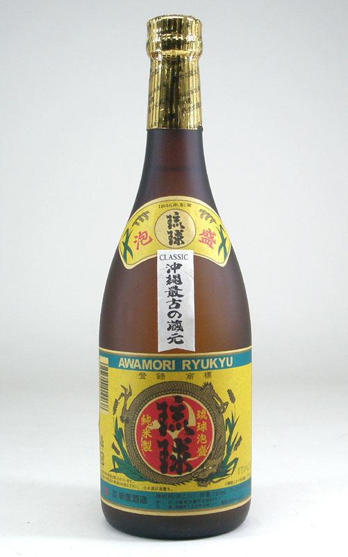 【送料無料6本セット】新里酒造 琉球クラシック 古酒泡盛 25度 720ml×6