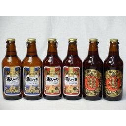 クラフトビールパーティ6本セット 金しゃちピルスナー330ml×2本 金しゃちアルト330ml×2本 名古屋赤味噌ラガー330ml×2本