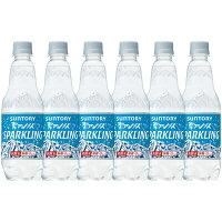 サントリー南アルプスの天然水スパークリング 炭酸水 ペットボトル 500ml×6本