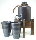 人気の焼酎サーバー1100cc+ペアグラス福袋焼酎ギフトセット