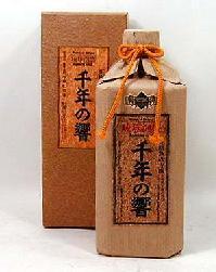 【送料無料12本セット】 今帰仁酒造 長期熟成古酒 泡盛 千年の響 25度 720ml×12