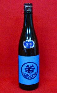 若波 純米 【生】 1800ml【若波酒造】