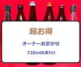 【大好評】日本酒 オーナーおまかせ6本セット【720ml×6】【大吟醸入ります】