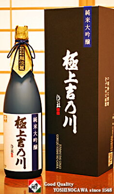 お歳暮【季節限定】純米大吟醸極上吉乃川1800ml