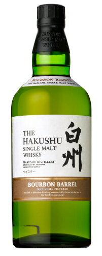 サントリーシングルモルトウイスキー 白州バーボンバレル 700ml 48%THE HAKUSHU SINGLE MALT WHISKY:酒のスーパー足軽