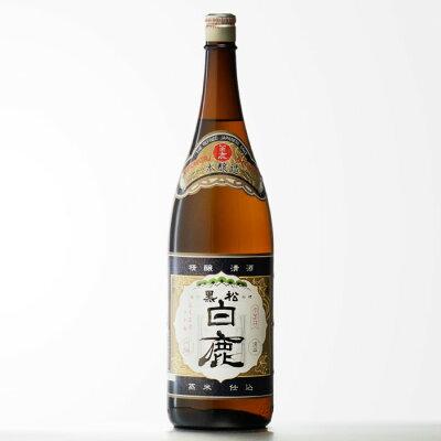黒松 白鹿 上撰本醸造 1800ml瓶 日本酒 お酒 酒 ギフト プレゼント 飲み比べ 内祝い 誕生日 男性 女性 宅飲み 家飲み 残暑見舞い 敬老の日