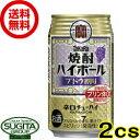 【送料無料】宝 焼酎ハイボールブドウ割り【350ml缶・2ケース・48本入】