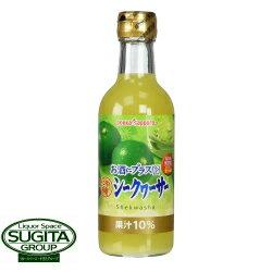 ポッカサッポロ お酒にプラス沖縄シークヮーサー540ml瓶
