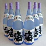 【1個口・包装不可】海(うみumi)1800mlx6本・大海酒造芋焼酎25度