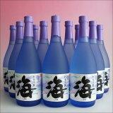 【1個口・包装不可】海(うみumi)720mlx12本・大海酒造芋焼酎25度
