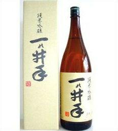 華やかな控えめな吟醸香と軽快かつコクのある飲み口。【取寄商品】一の井手 純米吟醸 1800ml...