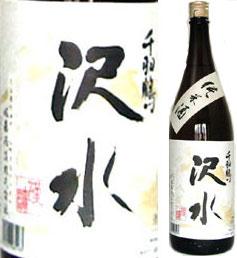 やや甘口で、しっかりとしたボディとフルーティな香りの純米酒。【取寄商品】千羽鶴 純米酒 ...